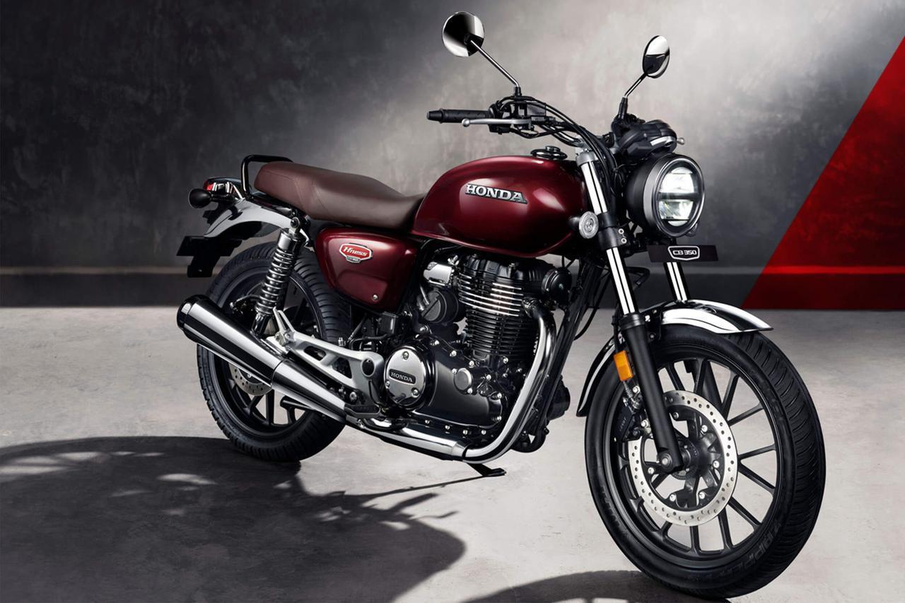 画像: インドでは「ハイネス CB350」の名で発売。日本のGB350とは一部仕様が異なるが、基本コンポーネントは共有している。
