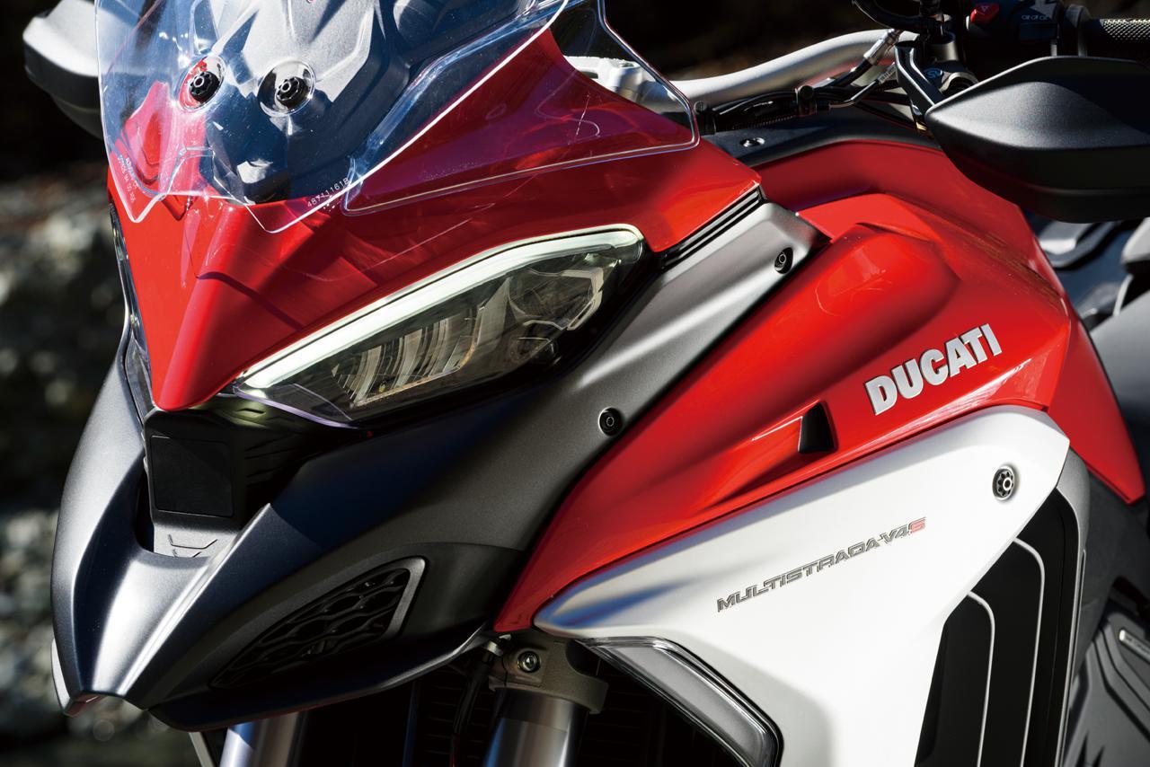 画像: 【インプレ】ドゥカティ「ムルティストラーダ V4 S」(2021年) - webオートバイ