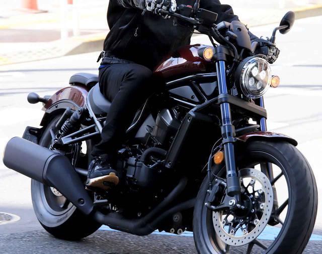 画像: 【街乗りインプレ】ホンダ「レブル1100DCT」 - webオートバイ