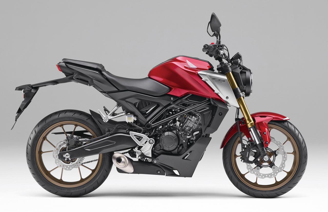 Images : 1番目の画像 - 【写真9枚】ホンダ新型「CB125R」 - webオートバイ