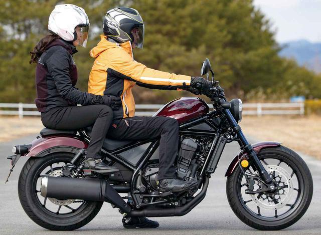 画像: 【足つきチェック】ホンダ「レブル1100」 - webオートバイ