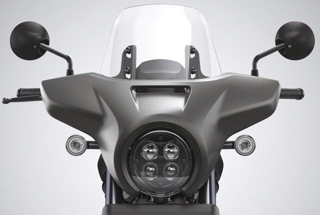 画像: 【カスタム】ホンダ「レブル1100」の純正オプションアクセサリー - webオートバイ