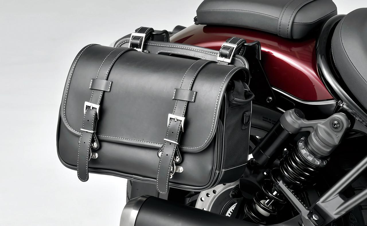 画像: デイトナ サドルバッグ/税込1万5400円 容量約9Lで、左右どちらにも対応。装着には別売のサドルバッグサポートが必要。
