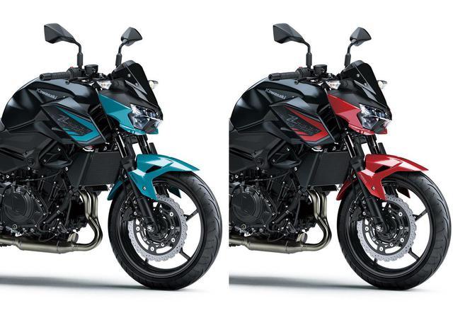 画像: 【人気カラー投票&比較】カワサキ「Z250」2021年モデル・2020年モデル - webオートバイ
