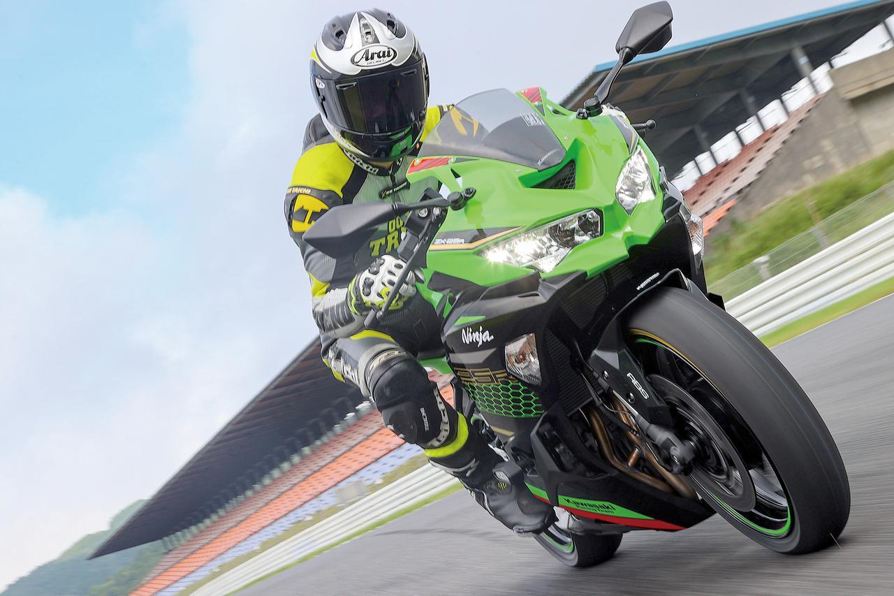 画像: 【サーキット・インプレ】カワサキ「Ninja ZX-25R」 - webオートバイ