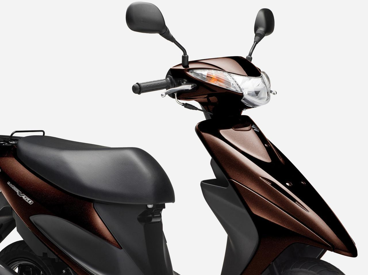 画像: スズキ「アドレスV50」のカラーバリエーション - webオートバイ
