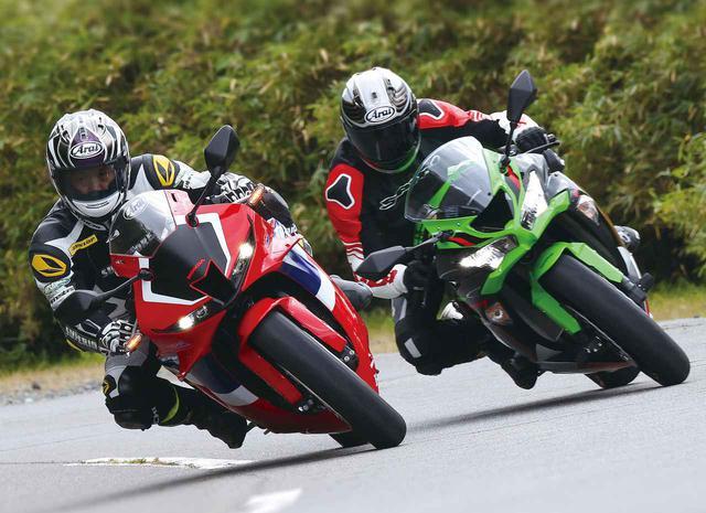 画像: 【比較】ホンダ「CBR600RR」・カワサキ「Ninja ZX-6R」 - webオートバイ
