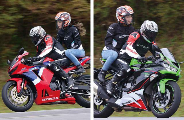 画像: 【タンデム比較】CBR600RRとNinja ZX-6Rはどっちが乗りやすいかな?  - webオートバイ