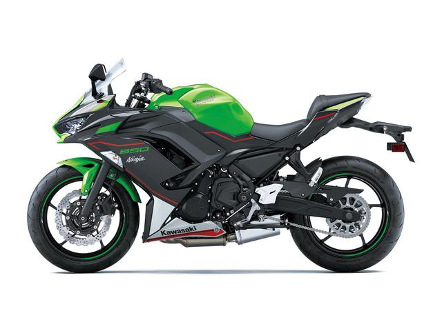 画像: 【写真6枚】カワサキ Ninja650シリーズ(2021年モデル) - webオートバイ
