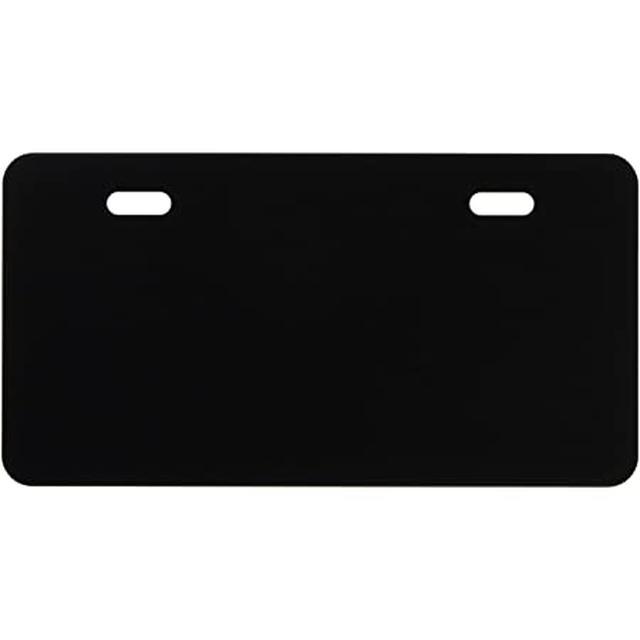 画像: Amazon | ポッシュ(POSH) 角小型ナンバープレートホルダー Type2 ご当地ナンバー取り付けベース 原付/原付2種用 ブラック