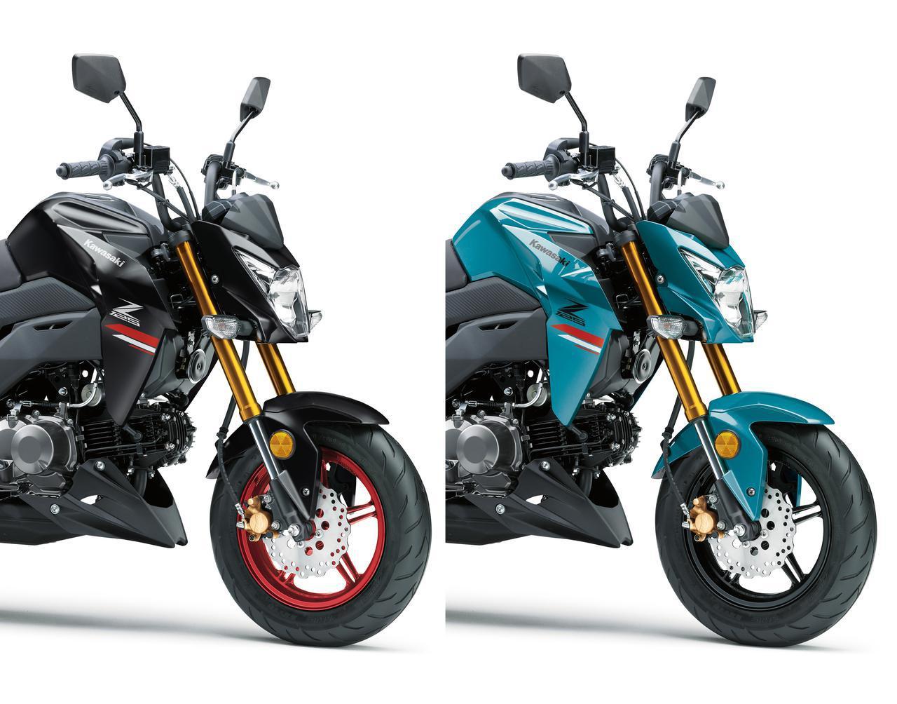 画像: 【人気カラー投票】カワサキ「Z125 PRO」2021年モデル - webオートバイ