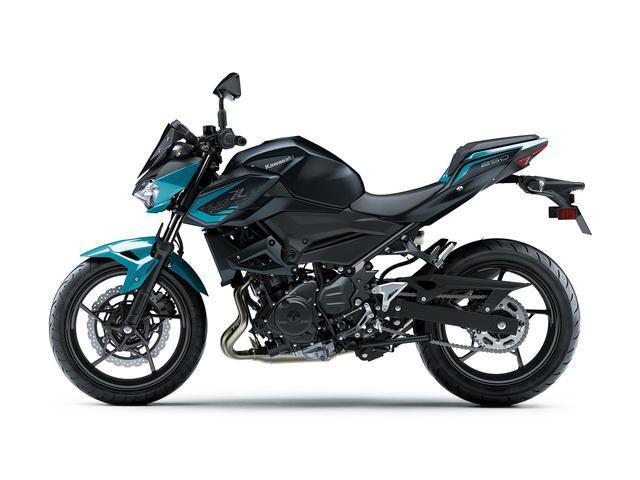 画像: 【写真6枚】カワサキ「Z250」2021年モデル - webオートバイ