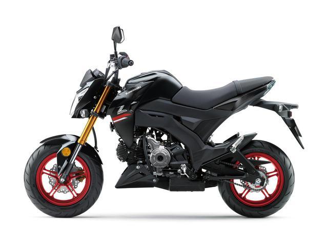 画像: 【写真6枚】カワサキ「Z125 PRO」2021年モデル - webオートバイ