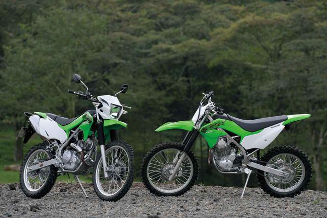 画像: 【写真17枚】カワサキ「KLX230」「KLX230R」 - webオートバイ