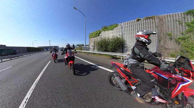 画像2: ラリースタイルのマシン3台で林道ツーリング(三橋 淳)