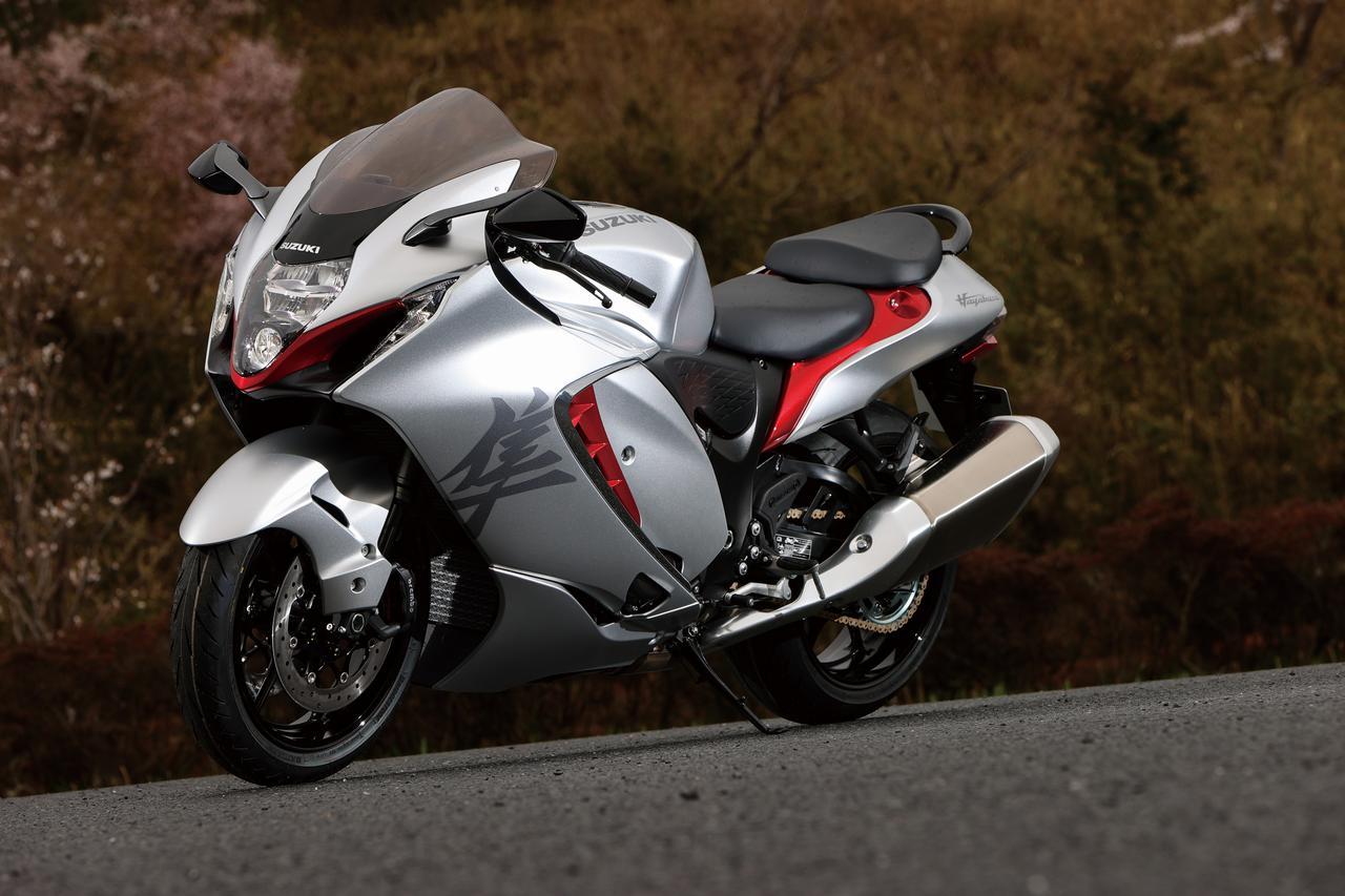 Images : 2番目の画像 - 【写真7枚】スズキ新型「ハヤブサ」 - webオートバイ