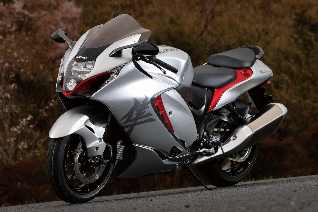 Images : 1番目の画像 - 【撮りおろし写真9枚】スズキ新型「ハヤブサ」 - webオートバイ