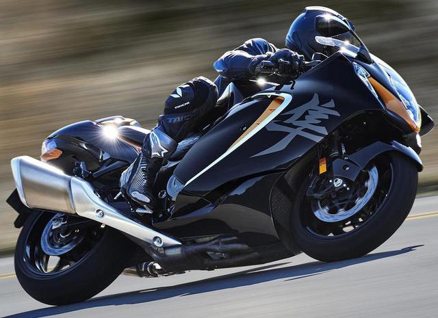 画像: 【隼】スズキ新型「ハヤブサ」の車体設計を解説! - webオートバイ