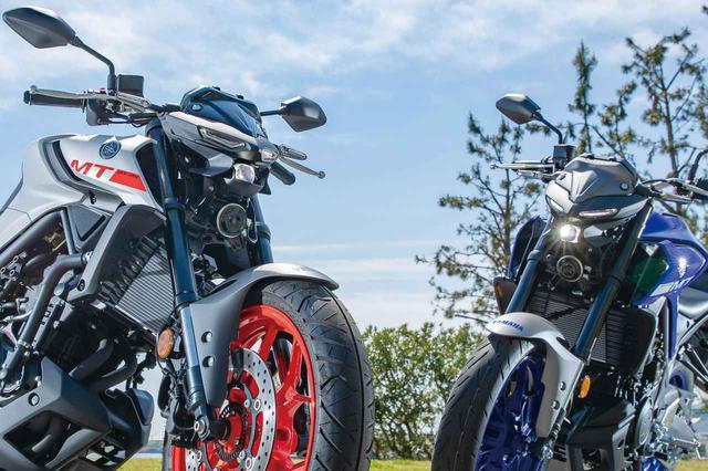 画像: ヤマハ「MT-03」「MT-25」比較インプレ - webオートバイ