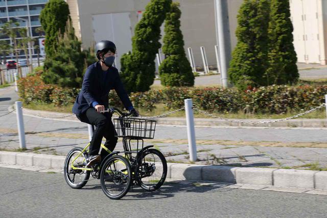 画像: こちらは電動アシスト付き自転車のNB-01。