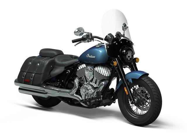 画像: Indian Super Chief Limited メーカー希望小売価格:税込287万8000円~ www.indianmotorcycle.co.jp