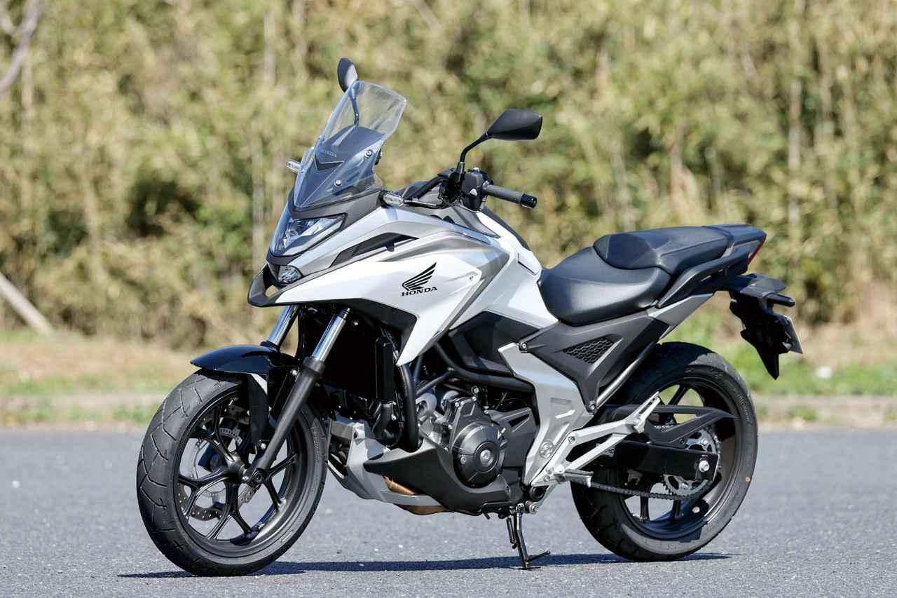 画像: Honda NC750X Dual Clutch Transmission 総排気量:745cc エンジン形式:水冷4ストOHC4バルブ直列2気筒 シート高:800mm 車両重量:224kg メーカー希望小売価格:税込99万円 発売日:2021年2月25日