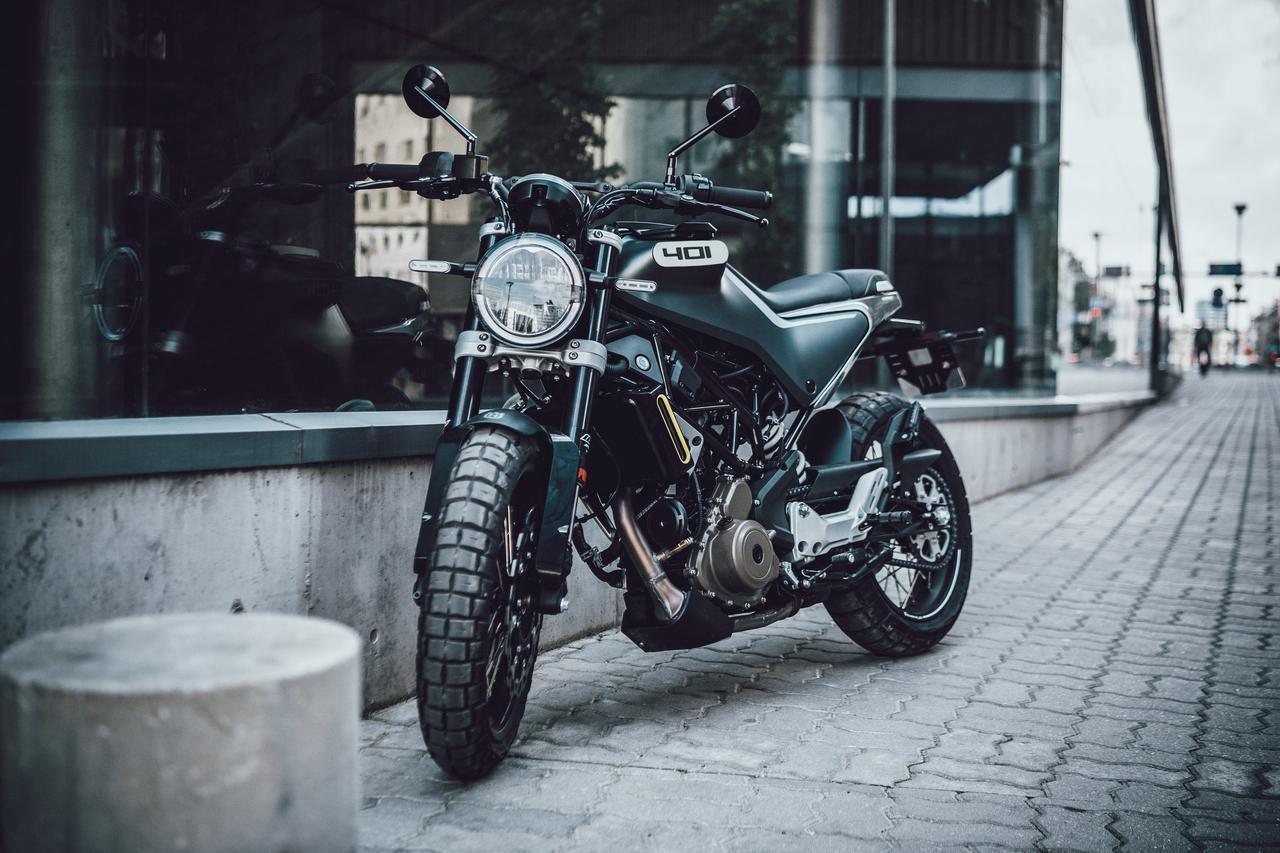 Images : 2番目の画像 - 【写真5枚】ハスクバーナモーターサイクルズ「スヴァルトピレン401」 - webオートバイ