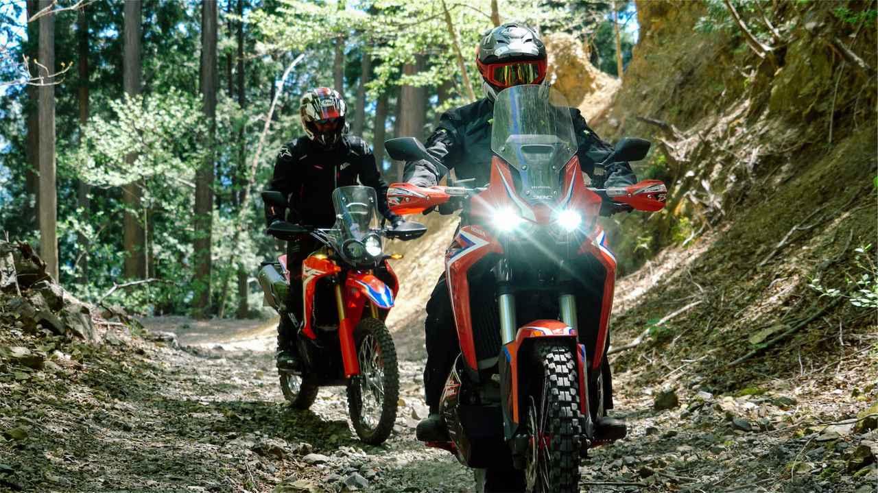 画像4: ビギナーがベテラングループと一緒に林道を走るときの危険性