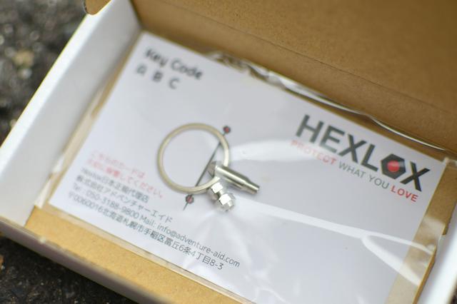 画像: HEXLOXのサイズは5mmを購入。めちゃ小さい。精密。このほかにも4mmと6mmもラインナップされてる。