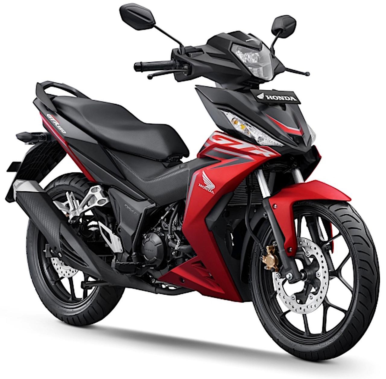 画像: Honda Supra GTR150 総排気量:149cc エンジン形式:水冷4ストDOHC4バルブ単気筒 シート高:780mm 車両重量:119kg