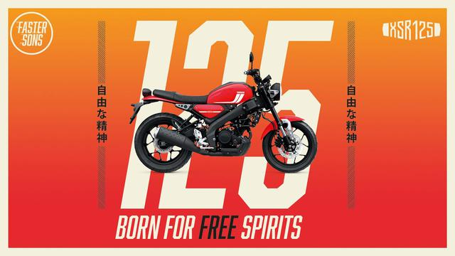 画像: 2021 Yamaha XSR125 - Born For Free Spirits www.youtube.com