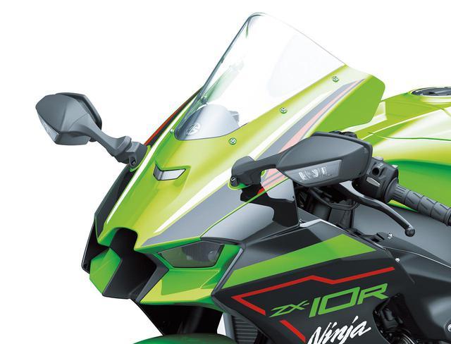 画像: カワサキ新型「Ninja ZX-10R」を解説! 2021年型は空力性能を追求、クルーズコントロールも搭載 - webオートバイ