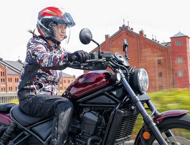 画像: ホンダ「レブル1100DCT」を試乗レビュー(梅本まどか) - webオートバイ