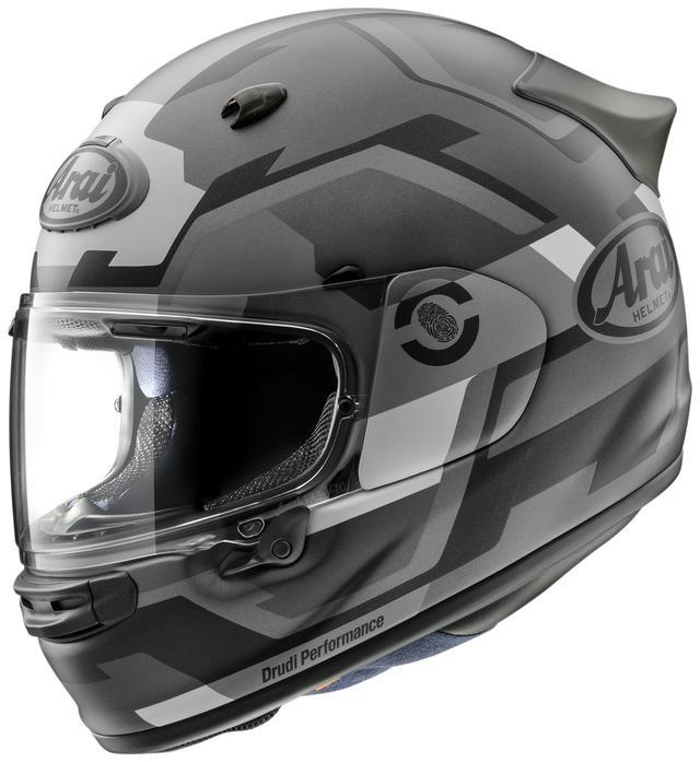 画像3: アライの新型ヘルメット「アストロGX」に初のグラフィックモデル「アストロGX・フェイス」が登場、カラーは3色!