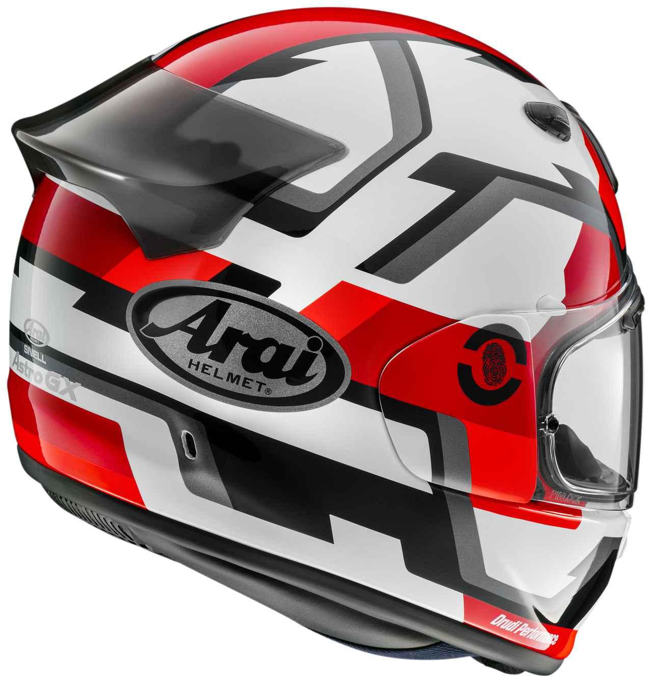 Images : 5番目の画像 - 【写真6枚】アライヘルメット「アストロGX・フェイス」 - webオートバイ