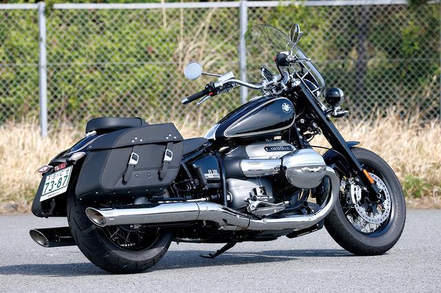 画像1: BMW「R18 クラシック ファーストエディション」インプレ(2021年)ツーリングでの快適装備を充実させたR18の兄弟モデル