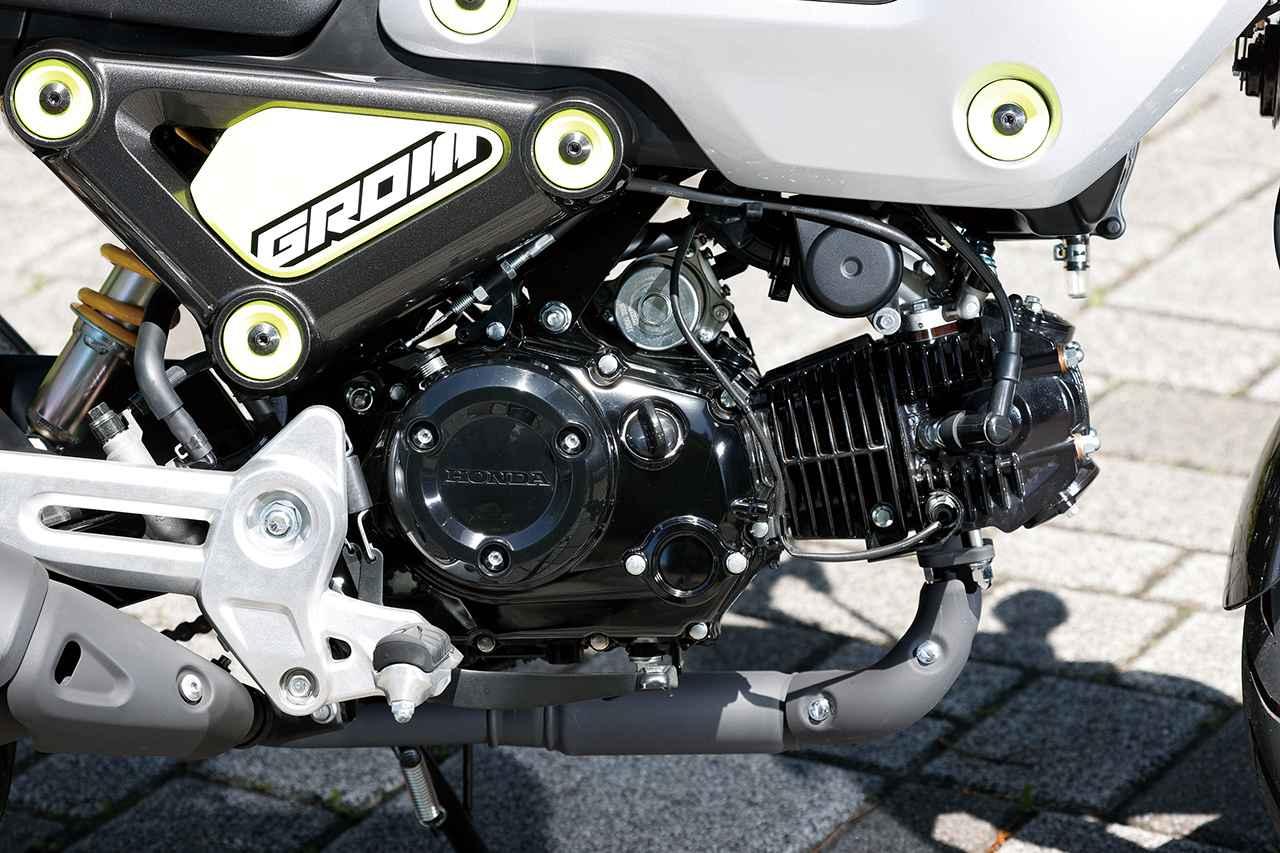 画像: 5速ミッション採用に加えてエンジンはロングストローク化して圧縮比もアップ。力強さに磨きをかけている。