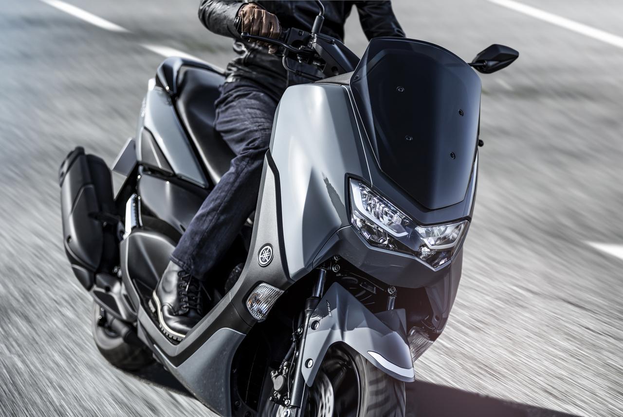 画像1: ヤマハが新型「NMAX ABS」を発売! エンジン改良&新フレームの採用とともにトラコンやスマホ連携機能も新搭載