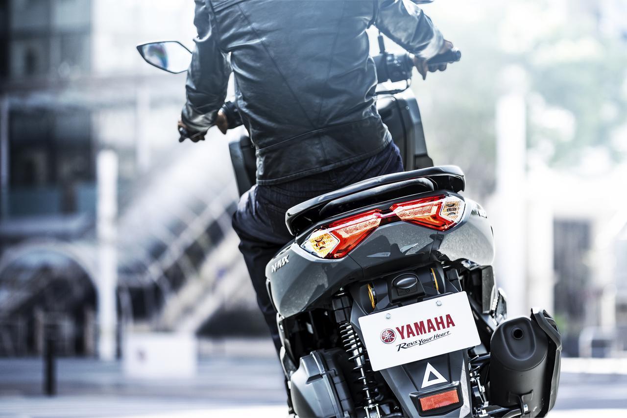 画像3: ヤマハが新型「NMAX ABS」を発売! エンジン改良&新フレームの採用とともにトラコンやスマホ連携機能も新搭載