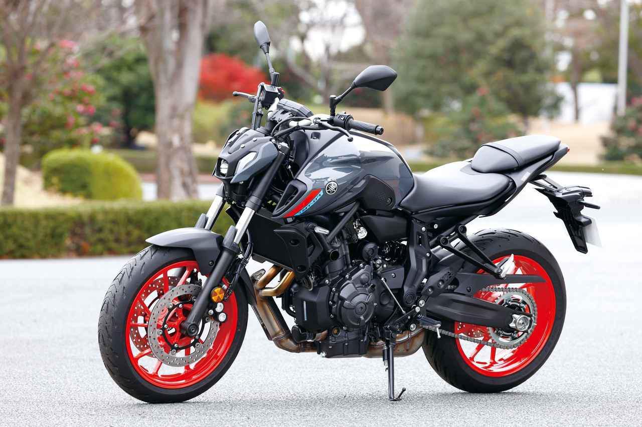 画像: ヤマハ新型「MT-07」を撮った! モデルチェンジで外観一新、2021年モデルの特徴を撮りおろし写真で解説 - webオートバイ