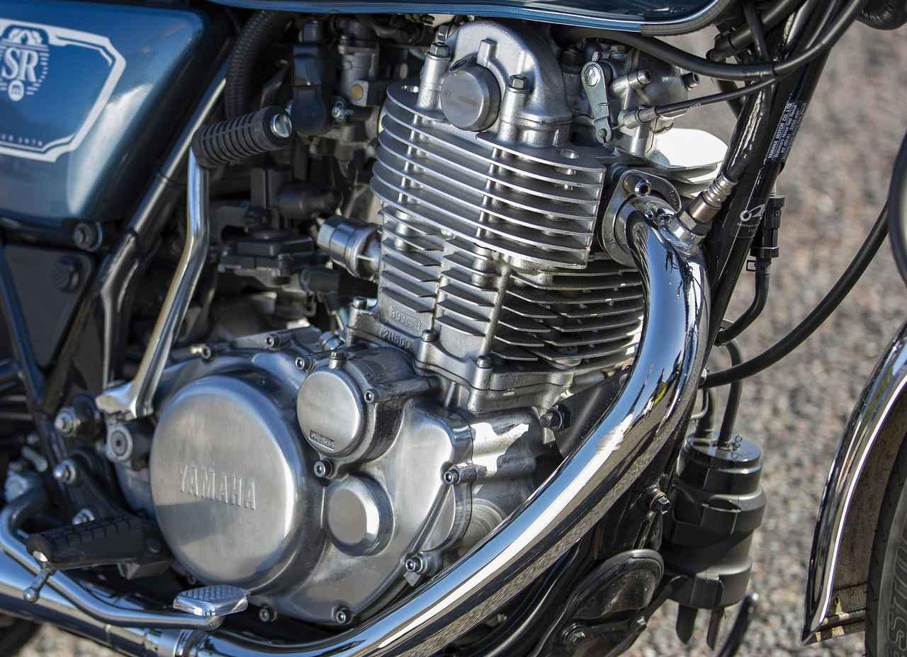 Images : 4番目の画像 - 【写真14枚】ヤマハ「SR400」 - webオートバイ