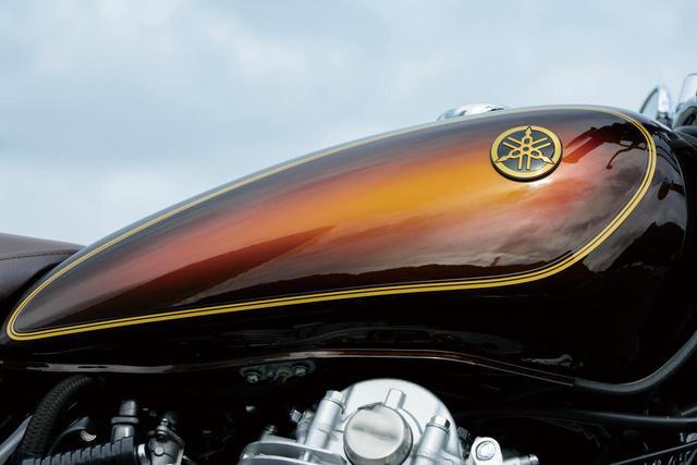 画像: 歴代SR400の中でも人気が高いサンバースト塗装