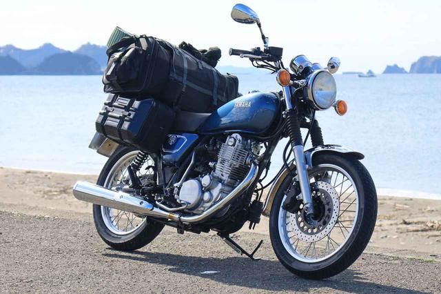 画像: ヤマハ「SR400」でゆくキャンプツーリング - webオートバイ
