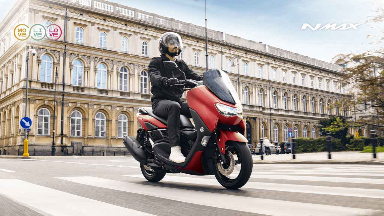 画像: 【欧州モデルの動画】2021 Yamaha NMAX - One with the city. www.youtube.com
