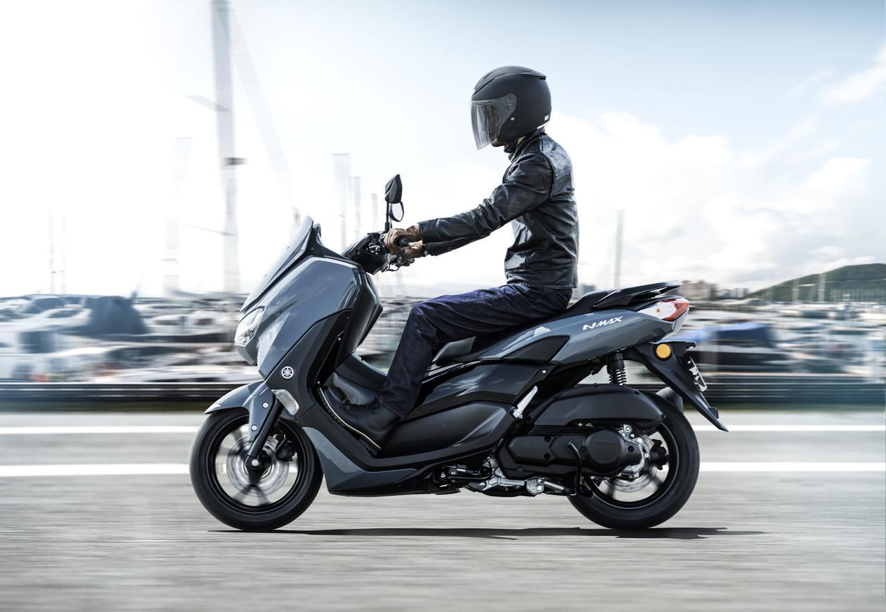画像2: ヤマハが新型「NMAX ABS」を発売! エンジン改良&新フレームの採用とともにトラコンやスマホ連携機能も新搭載