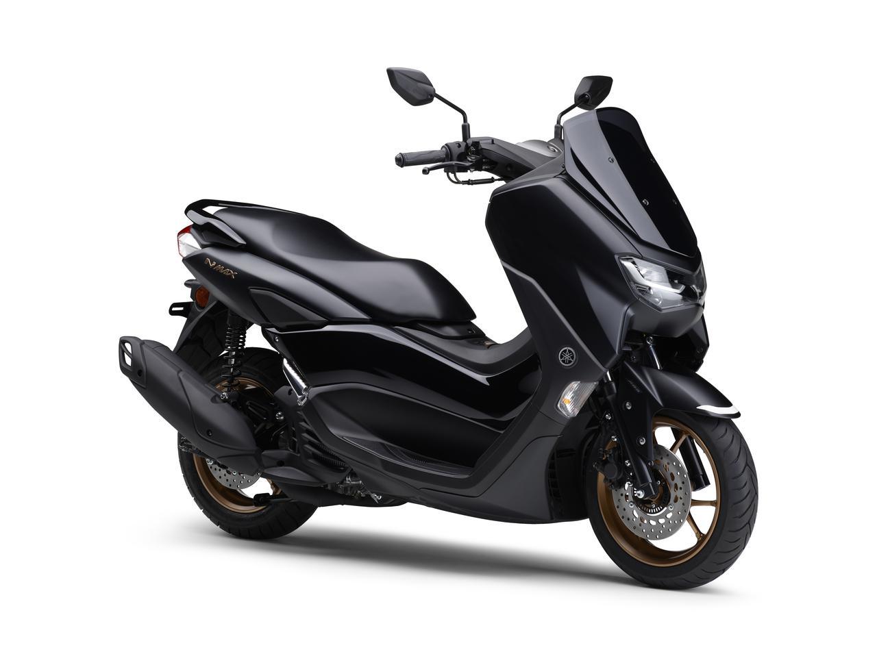 画像6: ヤマハが新型「NMAX ABS」を発売! エンジン改良&新フレームの採用とともにトラコンやスマホ連携機能も新搭載
