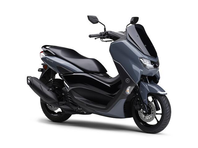 画像5: ヤマハが新型「NMAX ABS」の国内仕様車を発表! エンジン改良&新フレームの採用とともにトラコンやスマホ連携機能も新搭載