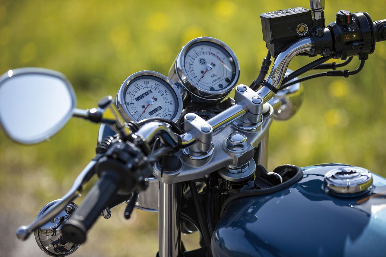 Images : 2番目の画像 - 【写真14枚】ヤマハ「SR400」 - webオートバイ
