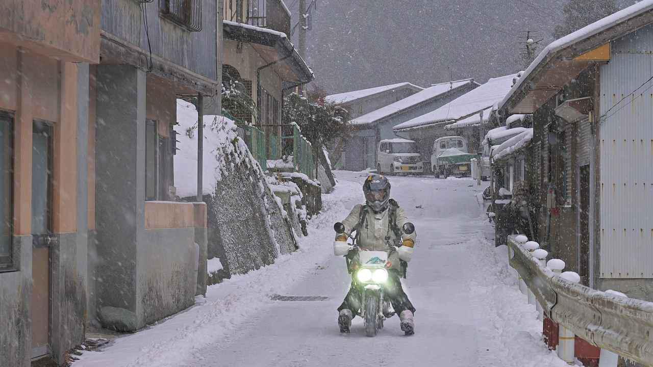画像5: ホンダ・モンキーバハで雪道を走破せよ!