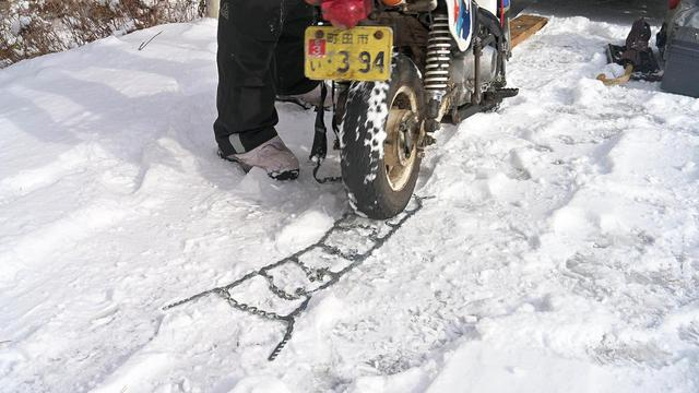 画像2: ホンダ・モンキーバハで雪道を走破せよ!